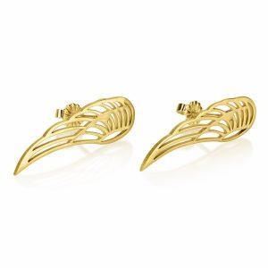 עגילי כנף מלאך